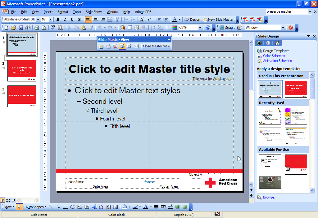001 how to make awesome powerpoint templates petes guide to completed slide masters toneelgroepblik Gallery